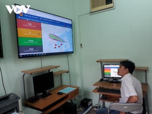 Trung tâm Dữ liệu giám sát tàu cá Bình Thuận