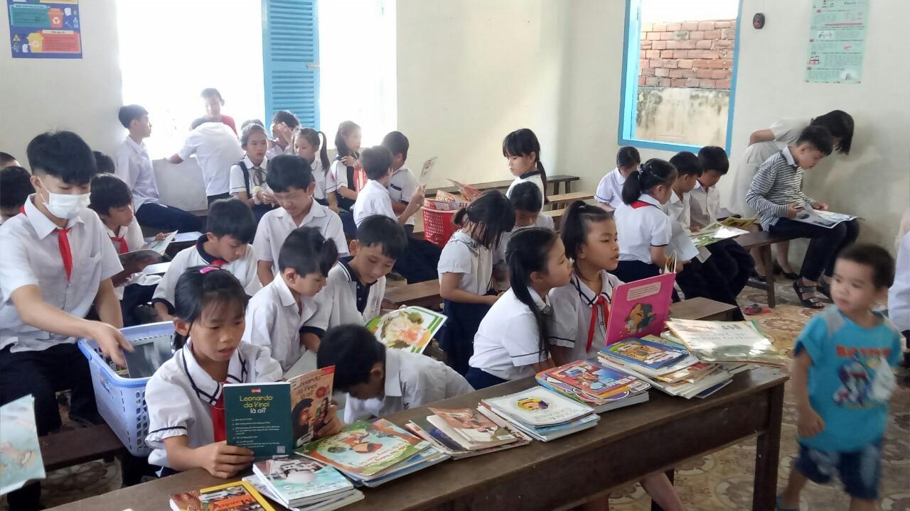 Lớp học Trường Tình Thương Bình Thuận
