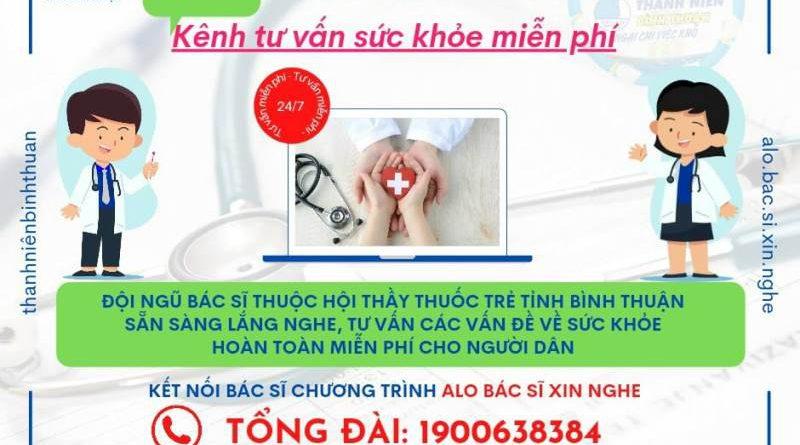 """Bình Thuận ra mắt """"Alo! Bác sĩ xin nghe"""" tư vấn sức khoẻ miễn phí cho người dân"""
