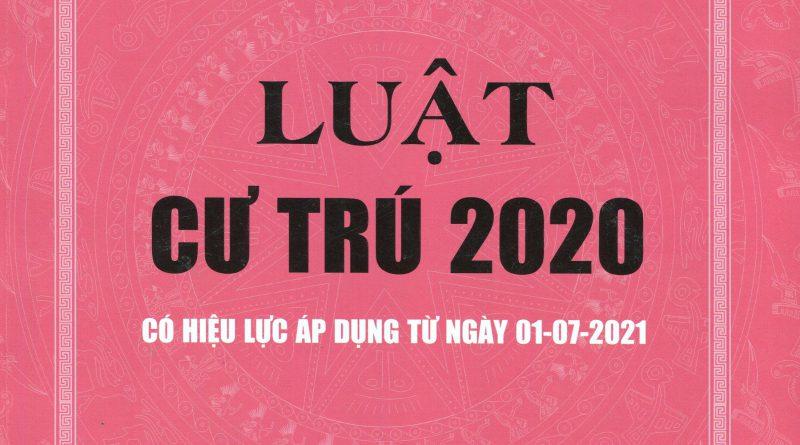 Luật cư trú 2020