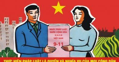 Ngày Pháp luật Việt Nam 09/11